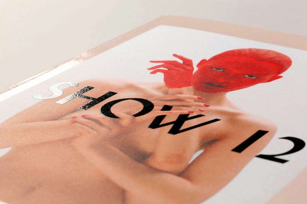 La Cambre SHOW12 — Photographie : Emmanuel Laurent — Typographie et illustration : Steve Jakobs