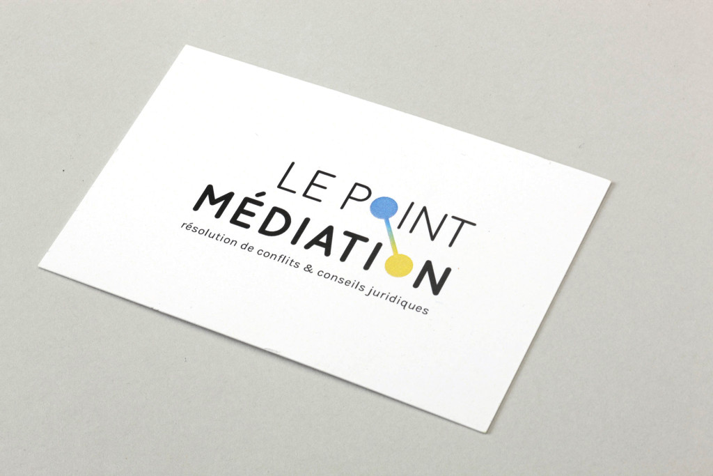 Le Point Médiation — Carte de visite