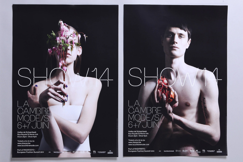 La Cambre SHOW14 — Typographie : Steve Jakobs — Photographie : Pierre Debusschere