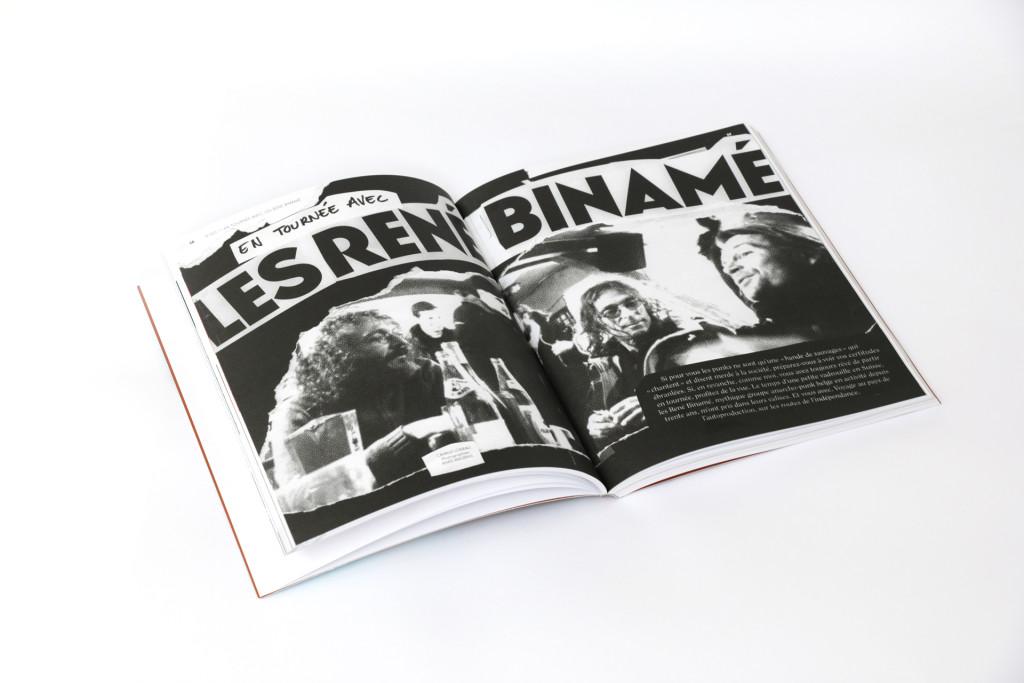 24h01 N°4 — Article : En tournée avec les René Binamé — Textes : Camille Loiseau — photographie : Anais Angéras