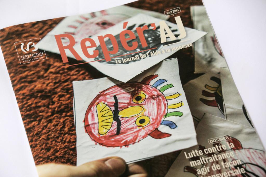 Reper'AJ 3 — Editeur responsable : Liliane Baudart — Journalisme : Maude Pirotte et Gwenaëlle Ansieau — Photos : Johanna de Tessières