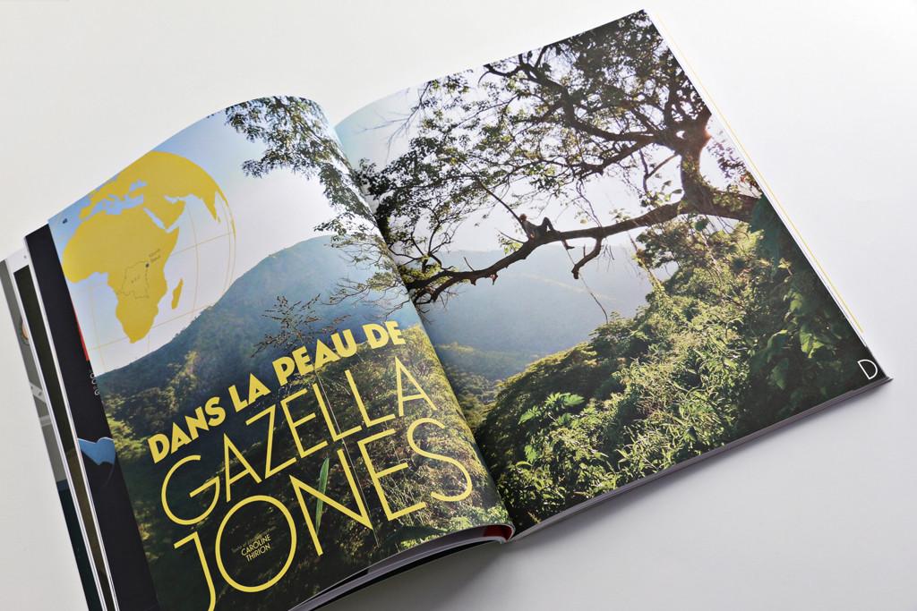 24H01 n°12 — Dans la peau de Gazella Jones — Texte : Caroline Thirion