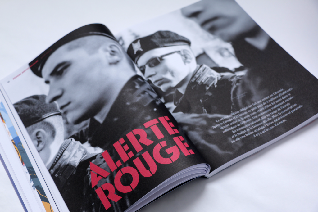 24h01 N°6 — Article : Alerte rouge — Textes et photographies : Chloé Glad
