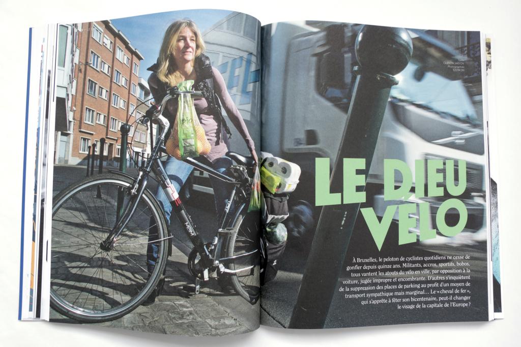 24h01 N°6 — Article : Le dieu vélo — Textes : Quentin Jardon. Photographies : Justin Jin