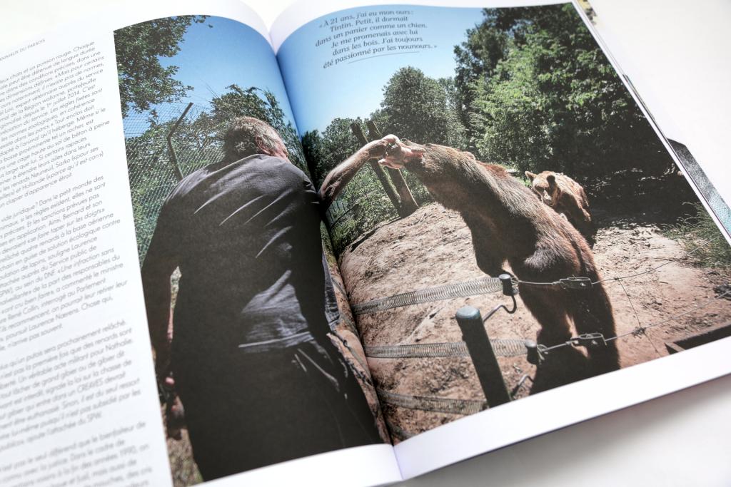 24h01 N°6 — Article : Les animaux du Paradis — Textes : Sophie Mignon. Photographies : Eric Herschaft