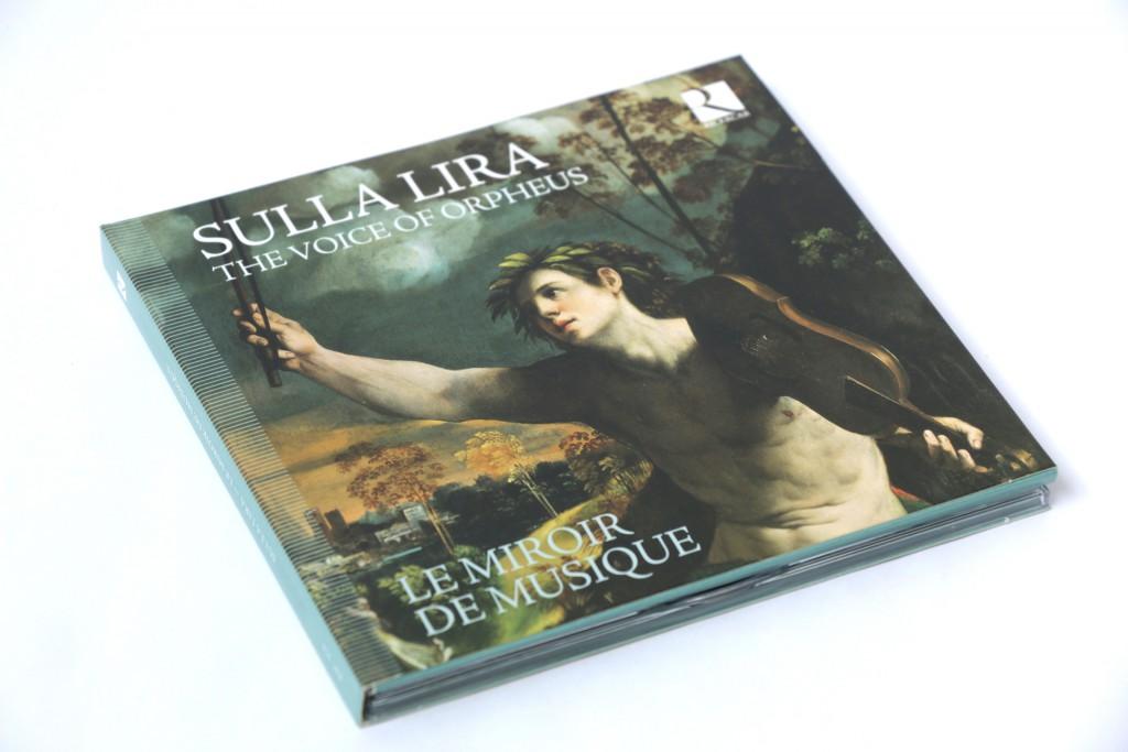 Ricercar — Sulla Lira — L'arte della recitazione — Musiciens : Le Miroir de musique — Peinture de couverture : Dosso Dossi, Apollo and Daphne