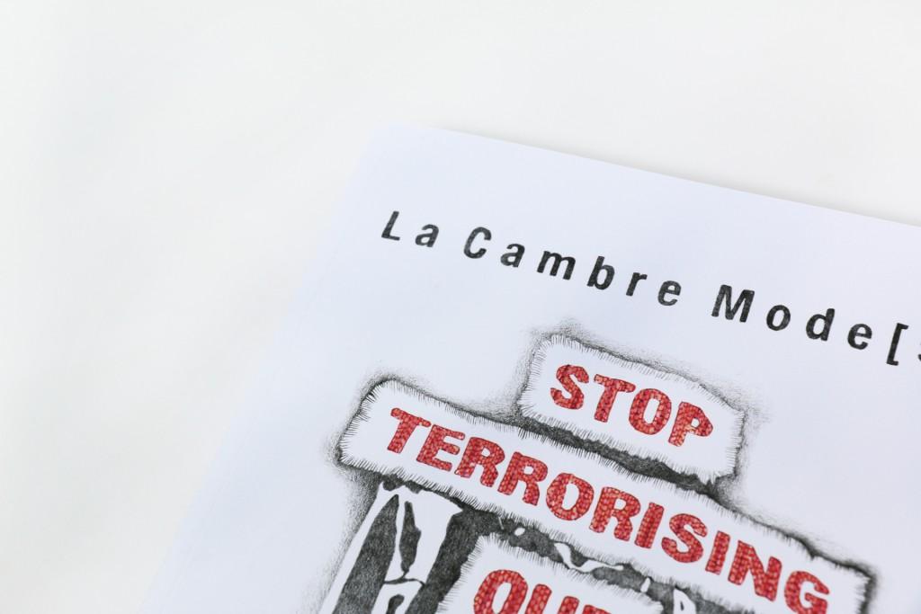 LA CAMBRE SHOW 16 — Dessins : Steve Jakobs