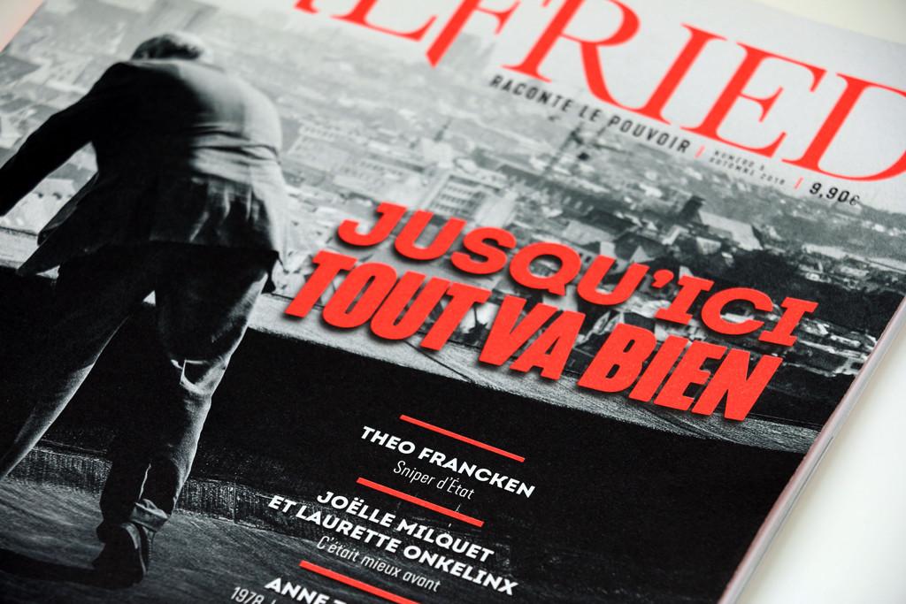 Wilfried n°5 — cover