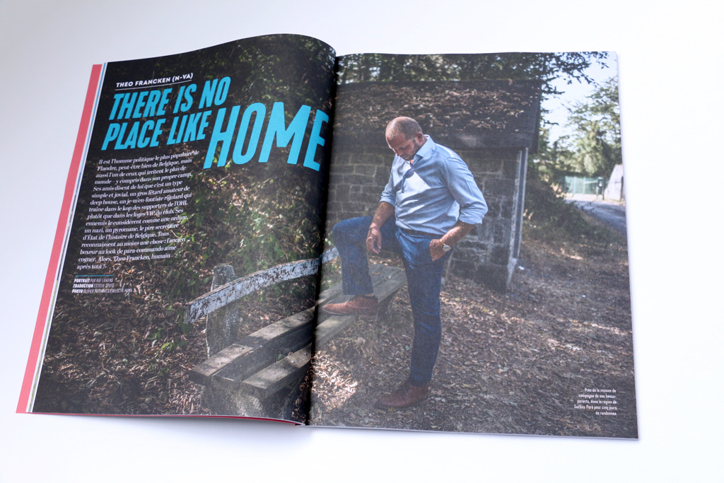 "Wilfried n°5 — ""There is no place like home"" — Portrait par Raf Liekens — Photo Olivier Papegnies"