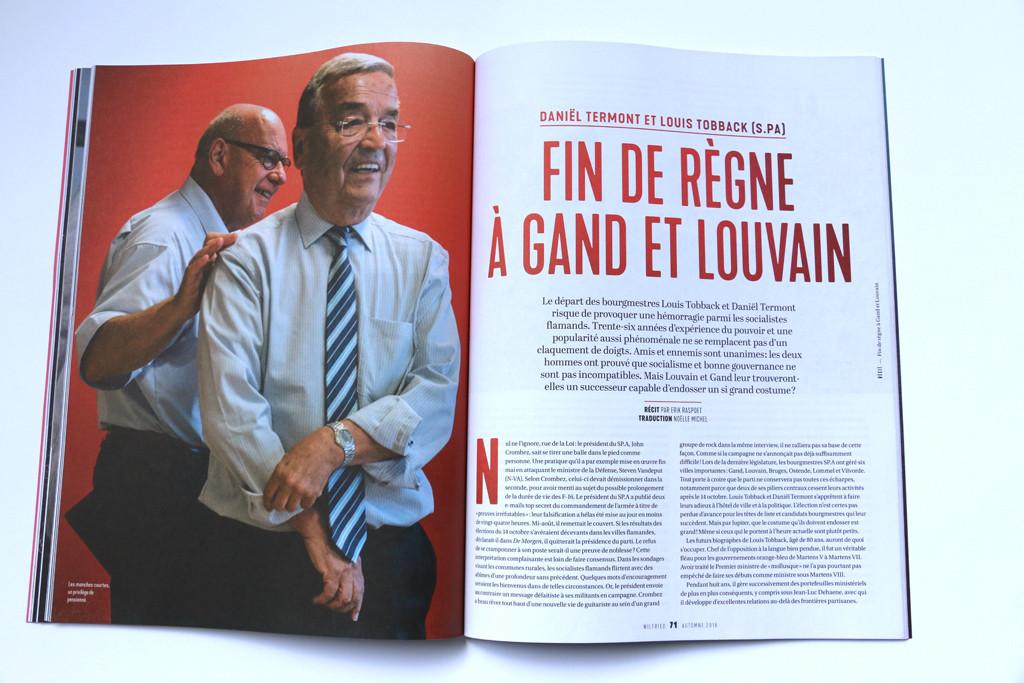 """Wilfried n°5 — """"Fin de Règne à Gand et Louvain"""" — Récit par Erik Raspoet"""