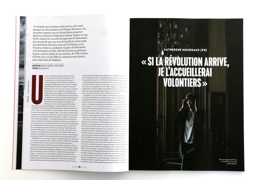 Wilfried n°8 — Entretien par Quentin Jardon et Erik Raspoet — Photo Bas Bogaerts