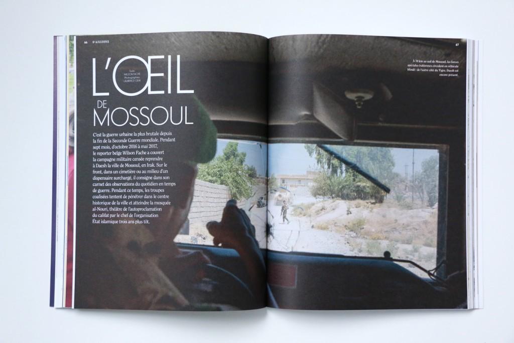 24h01 #8 - L'œil de Mossoul - Photographie : Laurence Geai - Texte : W. Fache