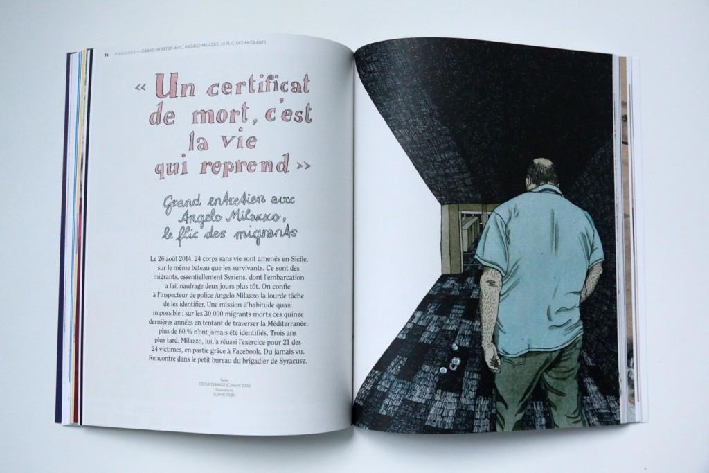 24h01 #8 - Entretien illustré - Illustration : Sophie Tellen