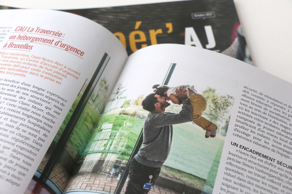 Reper'AJ 6 — Editeur responsable : Liliane Baudart — Journalisme : Maude Pirotte et Gwenaëlle Ansieau — Photos : Johanna de Tessières