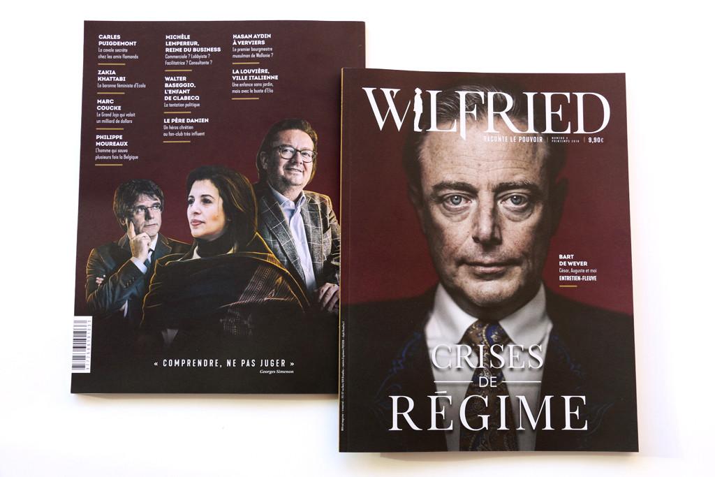 Wilfried n°3 — Cover — Photographie : Károly Effenberger, Tim Dirven, Julien S. Buchem, Emmanuel Dunand