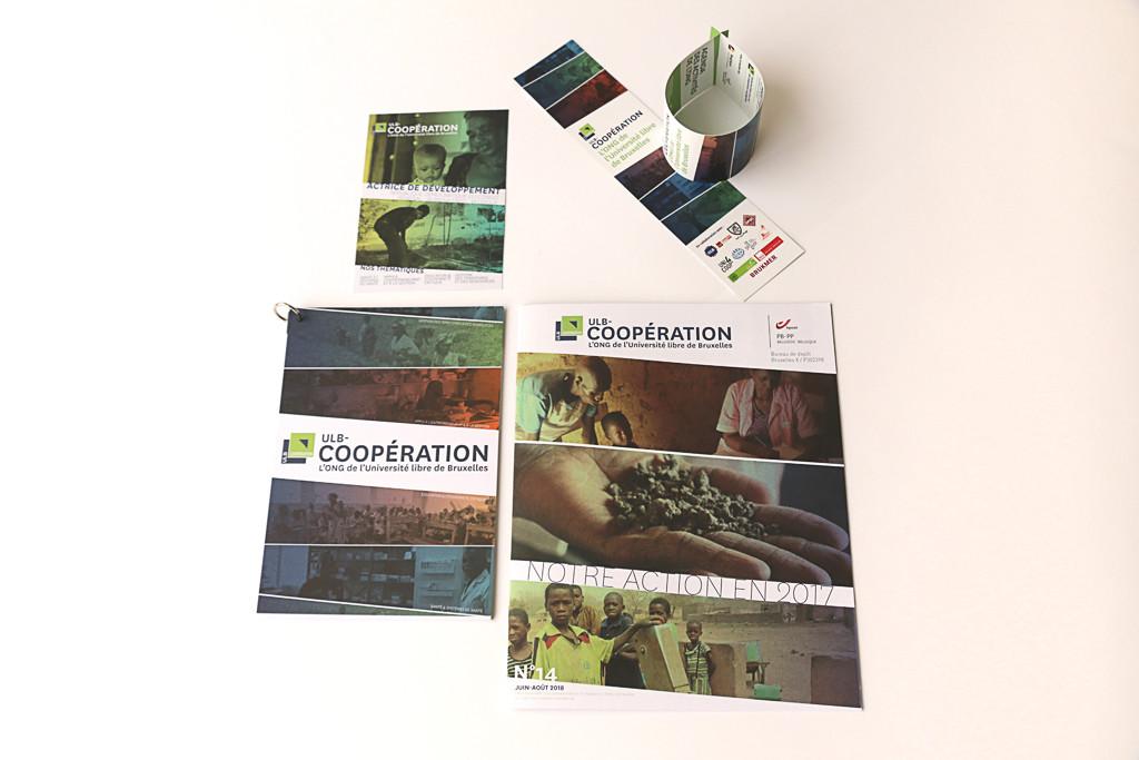 ULB COOP — Matériel de communication