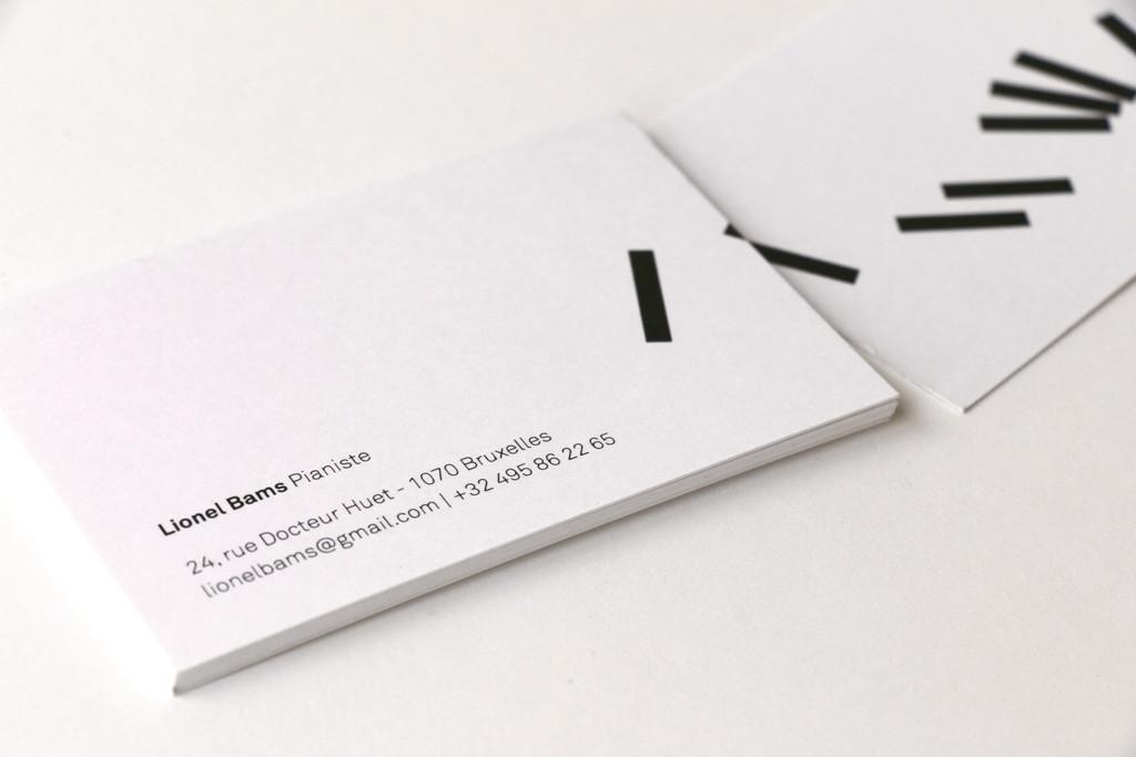 Lionel Bams — Carte de visite